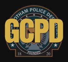 GCPD - Gotham Police (Colour) by TGIGreeny