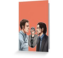 X-men - Days of Future Past Greeting Card