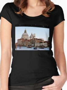 Entering Venice Women's Fitted Scoop T-Shirt