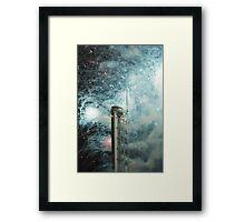 Glasgow Tower Framed Print