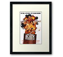 Black Dynamite 2 Movie Poster Framed Print