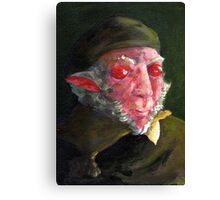 Remb-rat or perhaps Ratbrandt? You decide. Canvas Print