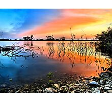 Sunrise Over Lake Texoma Photographic Print