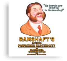 Ramshaft's Patented Powdered Electricity Canvas Print