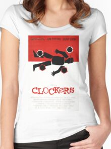 Clockers Movie Poster Women's Fitted Scoop T-Shirt