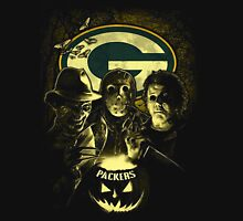 Halloween Green Bay Packers Fans T-shirt  Unisex T-Shirt