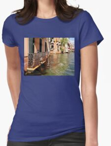 Traditional Buildings Womens Fitted T-Shirt