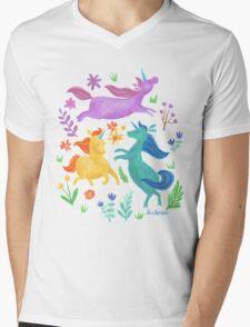 Unicorn Dreams Mens V-Neck T-Shirt