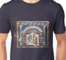 Mosaic at Heculaneum, near Naples, Italy Unisex T-Shirt
