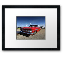 1959 Chevy Impala Framed Print