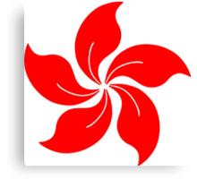 Oriental Flower Canvas Print
