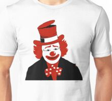 Mister Cool Clown With Dotted Bowtie Unisex T-Shirt