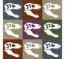Tyrannosaur in Color - Earth Tones Photographic Print