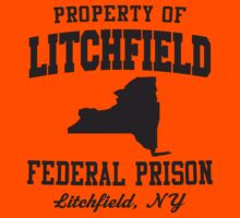 Property Of Litchfield Federal Prison by designsbybri