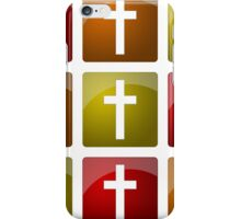 Colorful Christian Crosses iPhone Case/Skin