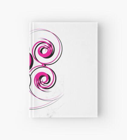 Swirly.  Hardcover Journal