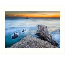 Muriwai Beach - Auckland - NZ Art Print