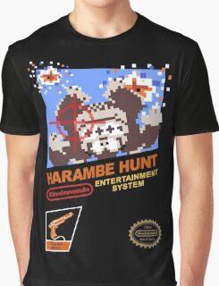 Harambe Hunt Graphic T-Shirt