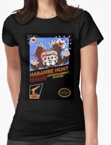 Harambe Hunt Womens Fitted T-Shirt