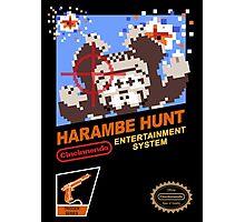 Harambe Hunt Photographic Print