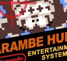 Harambe Hunt Sticker