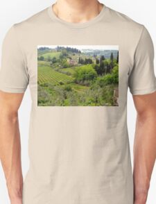 Italian Countryside Unisex T-Shirt