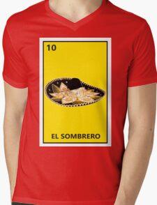 El Sombrero Mens V-Neck T-Shirt