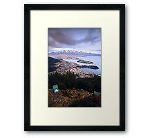 Queenstown - New Zealand Framed Print