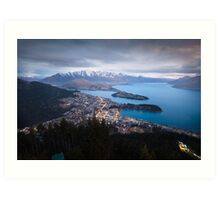 Queenstown - New Zealand Art Print