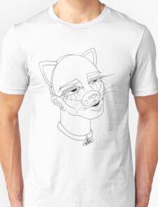 Cat Fetish (black design) T-Shirt