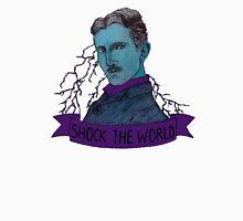 Nikola Tesla - Shock the World Unisex T-Shirt