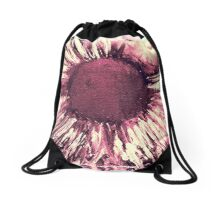 Heat in Cherry Drawstring Bag