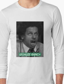 Legalize Ranch - Green - Eric Andre Picture - Supreme font Long Sleeve T-Shirt