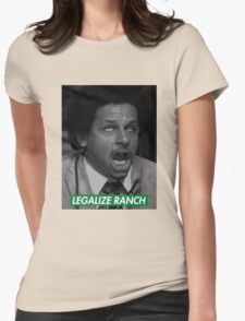 Legalize Ranch - Green - Eric Andre Picture - Supreme font Womens Fitted T-Shirt