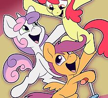 Cutie Mark Crusaders: Acrobats! by Horrible People Productions
