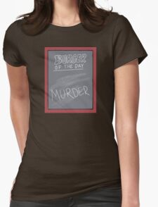 Specials Boards - Murder Mystery Dinner Theater Womens Fitted T-Shirt
