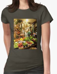 Local Market Womens Fitted T-Shirt