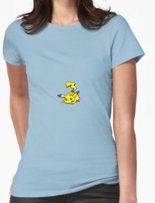 Pikachu Pixel Art Womens Fitted T-Shirt