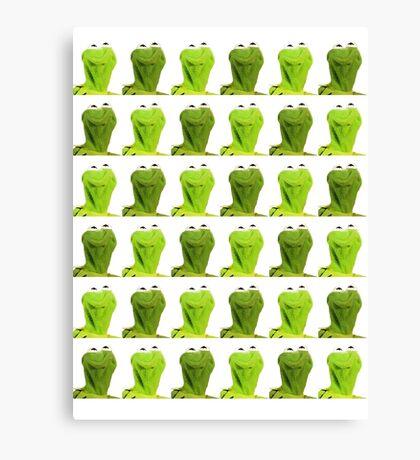 Kermit the Frog Canvas Print
