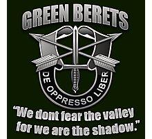 Logo - The Green Berets Photographic Print