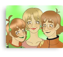 Voltron - Holts with Freckles Canvas Print