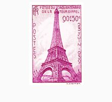1939 France Eiffel Tower Postage Stamp Unisex T-Shirt