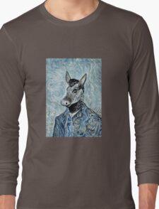 Blue Donkey Long Sleeve T-Shirt