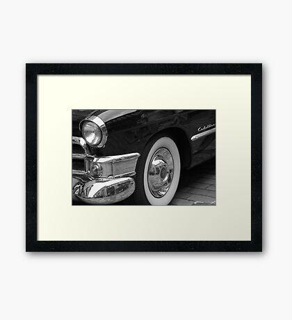 American Classic - Cadillac Framed Print