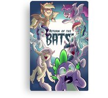 Return of the Bats! Canvas Print