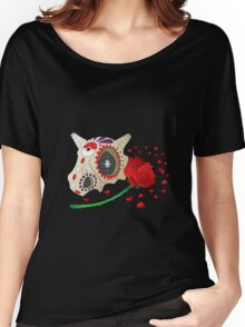Day of The Dead Cubone Women's Relaxed Fit T-Shirt