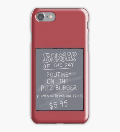 Specials Boards - Poutine on the Ritz iPhone Case/Skin
