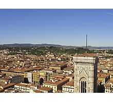 View from the top of the Duomo Photographic Print