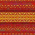 Warm Woolen Weaving by Dana Roper