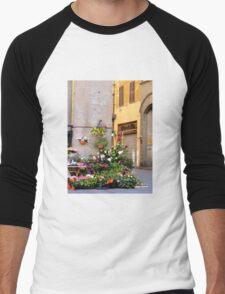 Vendors in Lucca Men's Baseball ¾ T-Shirt